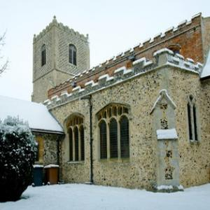 Snow at All Saints
